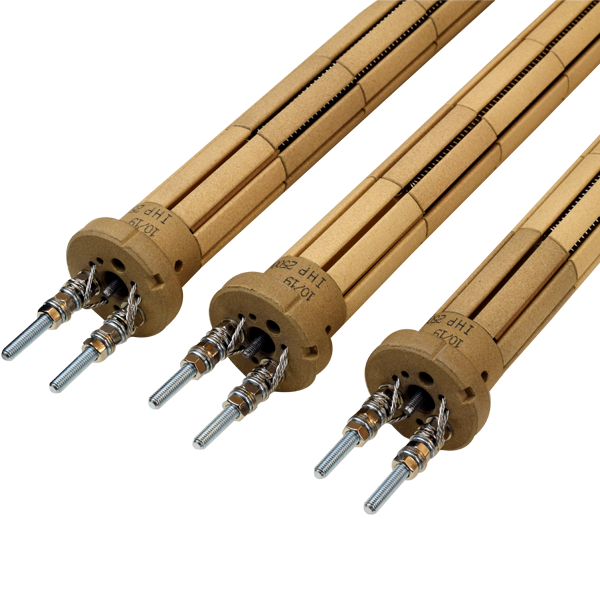 Ceramic bobbin heaters