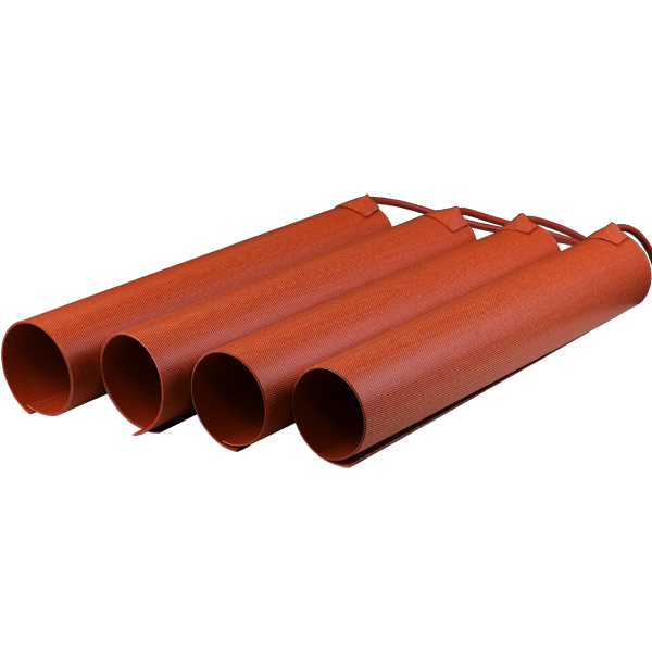 Preformed silicone heater